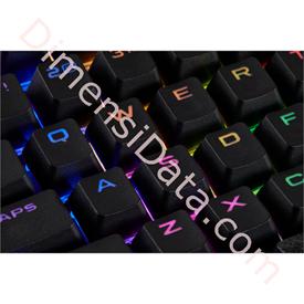 Jual Gaming Keycaps CORSAIR PBT Double-Shot Full 104/105 Keyset [CH-9000235-WW] Black